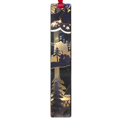 Christmas Advent Candle Arches Large Book Marks by Nexatart
