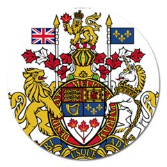 Coat Of Arms Of Canada  Magnet 5  (round) by abbeyz71