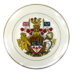Coat Of Arms Of Canada  Porcelain Plates by abbeyz71