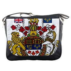 Coat Of Arms Of Canada  Messenger Bags by abbeyz71