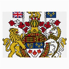 Canada Coat Of Arms  Large Glasses Cloth by abbeyz71