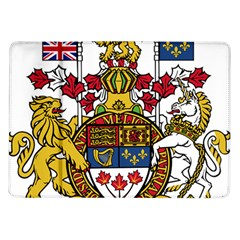 Canada Coat Of Arms  Samsung Galaxy Tab 10 1  P7500 Flip Case by abbeyz71