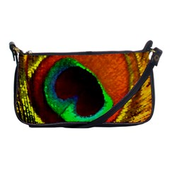 Peacock Feather Eye Shoulder Clutch Bags