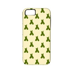 Leaf Pattern Green Wallpaper Tea Apple Iphone 5 Classic Hardshell Case (pc+silicone) by Nexatart