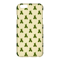 Leaf Pattern Green Wallpaper Tea Apple Iphone 6 Plus/6s Plus Hardshell Case by Nexatart