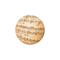 Music Notes Background Golf Ball Marker (10 Pack) by Nexatart