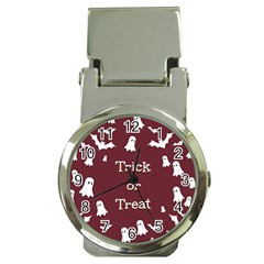 Halloween Free Card Trick Or Treat Money Clip Watches by Nexatart