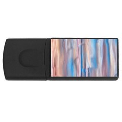 Vertical Abstract Contemporary USB Flash Drive Rectangular (1 GB)