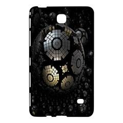 Fractal Sphere Steel 3d Structures Samsung Galaxy Tab 4 (8 ) Hardshell Case  by Nexatart