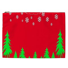 Merry Christmas Cosmetic Bag (xxl)  by Nexatart