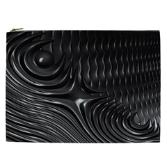 Fractal Mathematics Abstract Cosmetic Bag (xxl)  by Nexatart