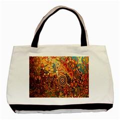 Ethnic Pattern Basic Tote Bag by Nexatart
