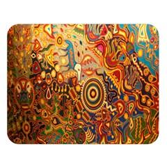 Ethnic Pattern Double Sided Flano Blanket (large)  by Nexatart