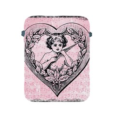 Heart Drawing Angel Vintage Apple Ipad 2/3/4 Protective Soft Cases by Nexatart