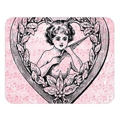 Heart Drawing Angel Vintage Double Sided Flano Blanket (Large)  by Nexatart