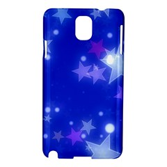 Star Bokeh Background Scrapbook Samsung Galaxy Note 3 N9005 Hardshell Case by Nexatart
