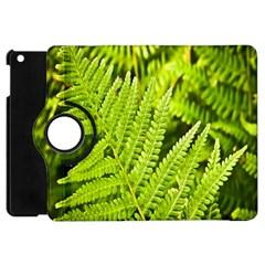 Fern Nature Green Plant Apple Ipad Mini Flip 360 Case by Nexatart