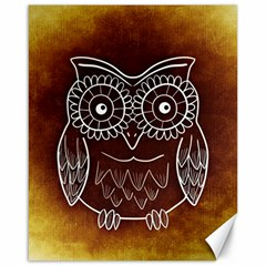 Owl Abstract Funny Pattern Canvas 16  X 20   by Nexatart
