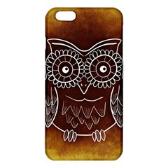 Owl Abstract Funny Pattern Iphone 6 Plus/6s Plus Tpu Case by Nexatart