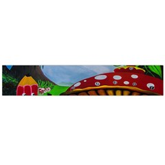 Kindergarten Painting Wall Colorful Flano Scarf (large) by Nexatart