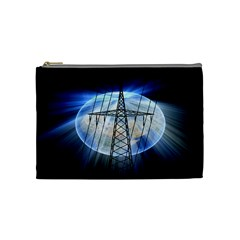 Energy Revolution Current Cosmetic Bag (medium)  by Nexatart