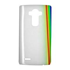 Rainbow Side Background LG G4 Hardshell Case by Nexatart