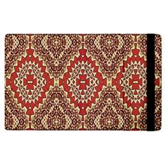 Seamless Carpet Pattern Apple Ipad 2 Flip Case by Nexatart
