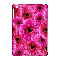 Gerbera Flower Nature Pink Blosso Apple Ipad Mini Hardshell Case (compatible With Smart Cover) by Nexatart