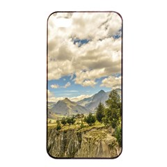 Valley And Andes Range Mountains Latacunga Ecuador Apple Iphone 4/4s Seamless Case (black) by dflcprints
