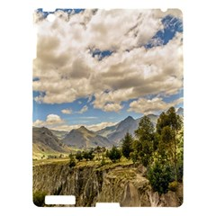 Valley And Andes Range Mountains Latacunga Ecuador Apple Ipad 3/4 Hardshell Case by dflcprints
