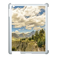 Valley And Andes Range Mountains Latacunga Ecuador Apple Ipad 3/4 Case (white) by dflcprints