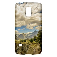 Valley And Andes Range Mountains Latacunga Ecuador Galaxy S5 Mini by dflcprints
