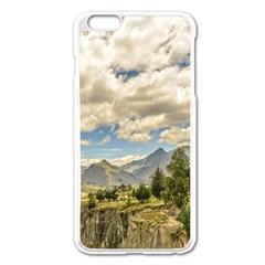 Valley And Andes Range Mountains Latacunga Ecuador Apple Iphone 6 Plus/6s Plus Enamel White Case by dflcprints