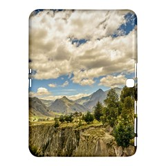 Valley And Andes Range Mountains Latacunga Ecuador Samsung Galaxy Tab 4 (10 1 ) Hardshell Case  by dflcprints