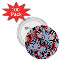 Dragon Pattern 1 75  Buttons (100 Pack)  by Nexatart
