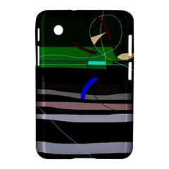 Abstraction Samsung Galaxy Tab 2 (7 ) P3100 Hardshell Case  by Valentinaart