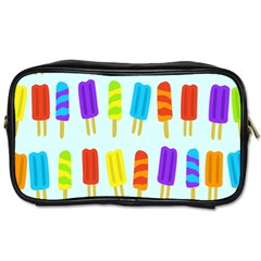Food Pattern Toiletries Bags by Nexatart