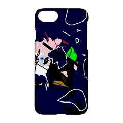 Abstraction Apple iPhone 7 Hardshell Case by Valentinaart