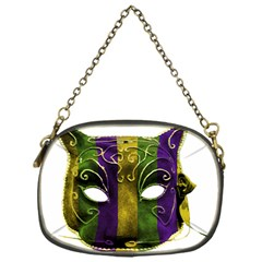 Catwoman Mardi Gras Mask Chain Purses (one Side)  by dflcprints