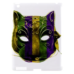 Catwoman Mardi Gras Mask Apple Ipad 3/4 Hardshell Case (compatible With Smart Cover) by dflcprints