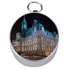 Montreal Quebec Canada Building Silver Compasses by Nexatart