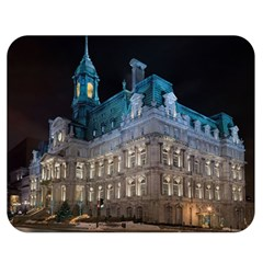 Montreal Quebec Canada Building Double Sided Flano Blanket (medium)  by Nexatart