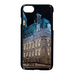 Montreal Quebec Canada Building Apple iPhone 7 Seamless Case (Black) by Nexatart