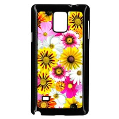 Flowers Blossom Bloom Nature Plant Samsung Galaxy Note 4 Case (Black) by Nexatart
