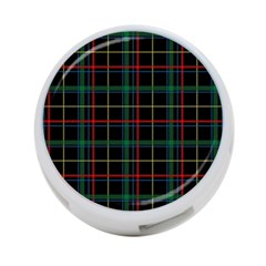 Plaid Tartan Checks Pattern 4 Port Usb Hub (one Side) by Nexatart
