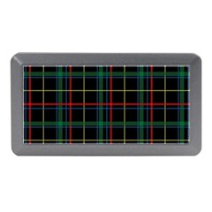 Plaid Tartan Checks Pattern Memory Card Reader (mini) by Nexatart