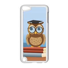 Read Owl Book Owl Glasses Read Apple Ipod Touch 5 Case (white) by Nexatart