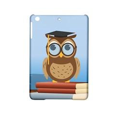 Read Owl Book Owl Glasses Read iPad Mini 2 Hardshell Cases by Nexatart