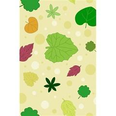 Leaves Pattern 5 5  X 8 5  Notebooks by Nexatart