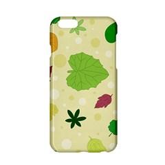 Leaves Pattern Apple Iphone 6/6s Hardshell Case by Nexatart